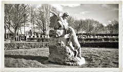 Where Angels Watch Over Us (ihughes22) Tags: cemetery statue angels knowsley memorialgarden liverpoolecho ihughes22