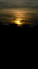 Blurry day (milachirolde) Tags: sunset españa atardecer spain paisaje frommybalcony sonydsc ultimasluces lastray madridatardecer madridnights
