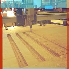 Cutting Job on my Shapeoko (Kiet Callies) Tags: cncrouter shapeoko makercave 2015calliesphotos