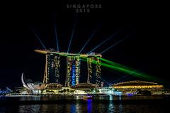 Greeting From Singapore (jumansaeed) Tags: show light architecture marina bay nikon singapore sands mbs d7000