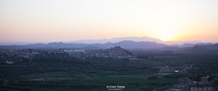 View Taourirt ( Ahmed rabie) Tags: city sunset sky mountain canon landscape al air north boulvard east route ciel morocco oriental za vue ville nord arabi afrique n6 bani oncf maghrib oued taourirt vergers doujda koulal loriontal