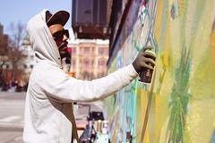 Grafitti painter (polybazze) Tags: city urban interestingness europe grafitti interestingness1 can spray painter malmö phusetanna flickrhivemindgroup