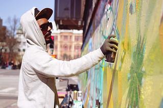 Grafitti painter