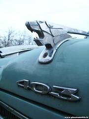Épave - Peugeot 403 (Deux-Chevrons.com) Tags: auto classic car rust classiccar automobile rusty automotive voiture collection abandon coche oldtimer rusting collectible wreck derelict wrecked peugeot 403 abandonned ancienne rouille peugeot403 épave