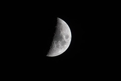 Moon 18-4-2015 (Enda Burke) Tags: sky moon man night stars manchester space nasa nightime apollo astrology manchesterairport wythenshawe