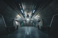 Fusion (Mark II) (Panda1339) Tags: uk london architecture tunnel tubestation londonunderground southwark