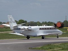 CS-DQB Cessna Citation 560XL XLS  Netjets Europe Ltd (Aircaft @ Gloucestershire Airport By James) Tags: james airport europe oxford ltd cessna lloyds citation netjets bizjet xls 560xl egtk csdqb