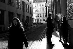 (Che-burashka) Tags: street bw london girl candid smoke omd em5