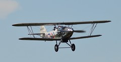 Hawker Demon G-BTVE/K8203 (Fleet flyer) Tags: fighter bedfordshire demon shuttleworth hawker biplane shuttleworthcollection oldwarden hawkerdemon hawkerdemonk8203 hawkerdemongbtve hawkerdemongbtvek8203 gbtvek8203