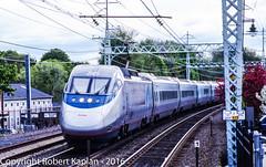 229, Milford, CT,k 5-2003 (Rkap10) Tags: railroad other connecticut places amtrak albums locomotives acela railroadslidescans