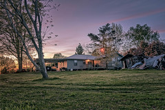 Granny & Pow Pow's Farm House (jody.claborn) Tags: architecture outdoors us nikon unitedstates alabama lightroom moulton easyhdr d5500 nikcollection