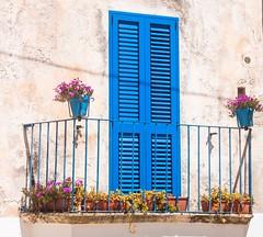 Otranto blue shutters (dgourmac) Tags: otranto