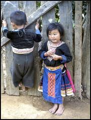 Hilltribe Children (ioensis) Tags: boy girl children thailand july chiangmai 1983 hilltribe jdl ioensis 03491bjohnlangholz2016
