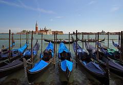 Un canto Veneziano (kenny barker) Tags: venice gondolas