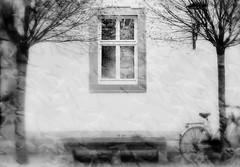 between reality and fantasy (monika keller) Tags: collage doubleexposure vgel
