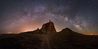 Shiprock Milky Way