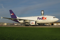 N809FD FedEx Express A310-324F at KCLE (GeorgeM757) Tags: airplane airport aircraft aviation cargo airbus clevelandhopkins widebody airfreight kcle fedexexpress a310324f alltypesoftransport georgem757 n809fd