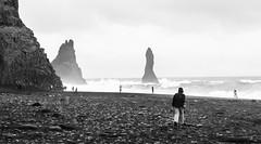 Reynisfjara Beach (the tinz) Tags: iceland south coast southcoast black sand beach spray basalt column