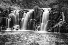 Cascades (nwsteve) Tags: blackandwhite river little falls waterfalls klickitat