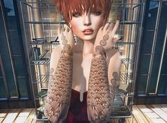 Elektra (clau.dagger) Tags: fashion tattoo ink free bodylanguage style secondlife alternative consignment insol catwa scarletcreative white~widow weloveroleplay