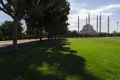 The way of the wisdoms (RKAMARI) Tags: park street travel trees sky green grass conceptual adana sabanccentralmosque