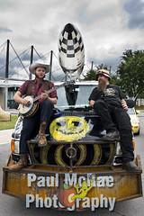 Bombs Away Dream Babies (Paul McRae (Delta Niner)) Tags: banjo rocket tulsa cowboyhat madmax artcar smileyface goldendriller epicbeard manjoyoungblood chriskunstler