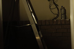 Baby Steps (stasnim) Tags: brick ladder verandah