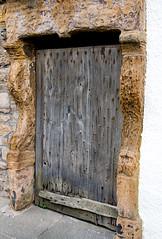 Old door (Chalto!) Tags: elie eastnuek fife scotland wall door wood building