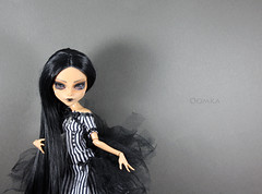 My ooak Cleo (oooomka) Tags: monster outfit high hand dress ooak made cleo repaint reroot