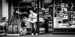 Fruit And Veg And Phones (Sean Batten) Tags: street city urban blackandwhite bw signs vegetables shop fruit nikon streetphotography mobilephone paddington 70200 phones d800 edgwarerd