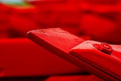 No Ferrari (Walimai.photo) Tags: red rojo rouge ferrari arado plow tornillo screw nikon d7000 helios 44m4