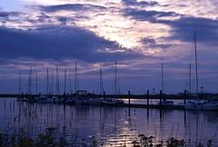 Sunset (careth@2012) Tags: sunset reflection marina reflections landscape boats scenery view dusk britishcolumbia scenic scene