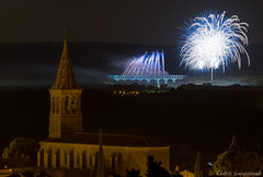Fire!!! (cgautriaud) Tags: feux dartifice pont gard aqueduc fte nuit artifice fire france sud south
