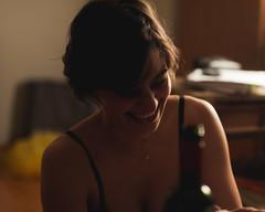 (Matheus Moreira (Morera)) Tags: love girl smile drunk 50mm nikon wine amor carinho smoke nostalgia memory stupid nostalgic guria garota sorriso memrias blissful d90 memria 14f