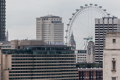 From One New Change (Gary Kinsman) Tags: canon5dmkii canoneos5dmarkii london canon70300mm telephoto zoom cityoflondon ec4 skyline landscape cityscape londoneye oxotower seacontainershouse upstreambuilding shelltower bigben kenthouse tower highrise houseofparliament 2016 compression urbanlandscape