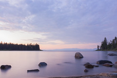 Camping 2016-28 (Supreme_asian) Tags: sunset lake water sunrise canon bay long exposure tahoe emeral 700d t5i