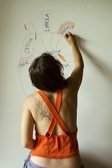 Orange Art (Raissa Fitzgerald Photographer) Tags: me selfportrait art drawing draw photographer photography heartart heart frida fridakahlo amore orange arancione tattoo tatuaggio top schiena disegnare