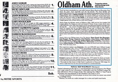 Manchester City vs Oldham Athletic - 1983 - Page 11 (The Sky Strikers) Tags: road xmas city canon magazine manchester football athletic maine second match oldham division saab league the 40p