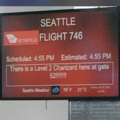 Virgin America letting us know there is a level 2 Charizard at the gate. #pokemonGo (Roxie's Flickr) Tags: 2 america us is gate know 14 july virgin level there letting 2016 charizard instagram 0948pm pokemongo httpswwwinstagramcompbh3oholbbps