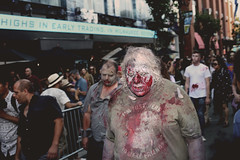 he is hungry for blood (teabone29) Tags: san diego comic con 2016 coldsplay makeup costume gaslamp hungry eat zombie