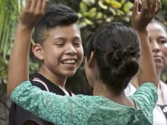 happy middle school dancer (Pejasar) Tags: boy girl teacher happy dance school escuelasintegrada antigua guatemala