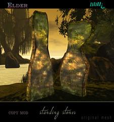 LD Elder Standing Stones (*MANDRAGORA* & Lilith's Den) Tags: lilithsden lovefest lovecraftfestivalinsecondlife hplovecraft