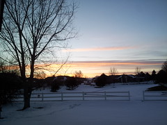 March 6, 2015 - A beautiful sunrise in Broomfield.