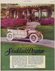 1912 Stoddard-Dayton Saybrook 48 HP Touring Car (aldenjewell) Tags: car hp ad 1912 touring dayton 48 stoddard saybrook