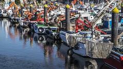 The bay v2 (ponzoñosa) Tags: boats puerto bay colorful barco porto metronomy seaport vilanova nasas arousa belovedland
