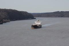 Boat (historygradguy (jobhunting)) Tags: ny newyork water river boat ship upstate poughkeepsie hudsonriver tanker dutchesscounty hudsonvalley