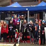 Revelstoke U14 Can-Am GS Podium on day 2