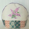 "Gather Lilacs Tea Cosy • <a style=""font-size:0.8em;"" href=""http://www.flickr.com/photos/29905958@N04/16685209150/"" target=""_blank"">View on Flickr</a>"
