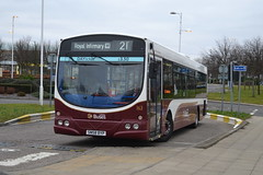 Lothian Buses Volvo B7RLE 163 SN58BYP - Edinburgh (dwb transport photos) Tags: urban bus eclipse volvo edinburgh wright 163 lothianbuses gylecentre sn58byp