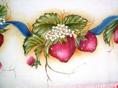 morangos 01 (LID ARTS) Tags: de em prato panos pintura tecido